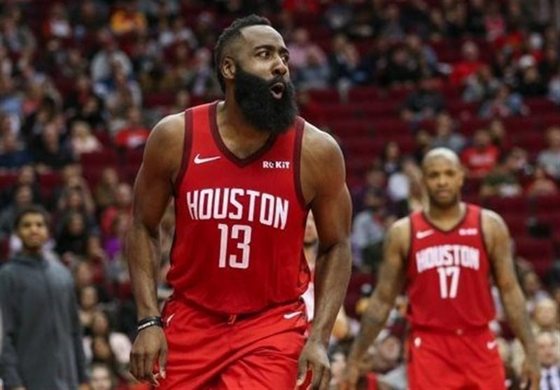 لیگ NBA، پیروزی راکتس با رکورد شکنی هاردن، پارکر با پیروزی سان آنتونیو را ترک کرد