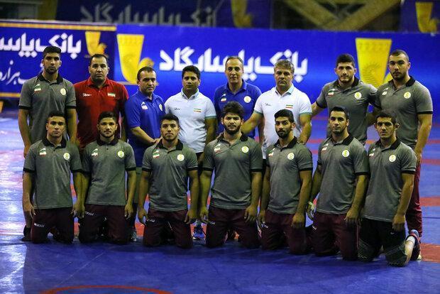 ایران قهرمان رقابت های کشتی آزاد جوانان آسیا شد